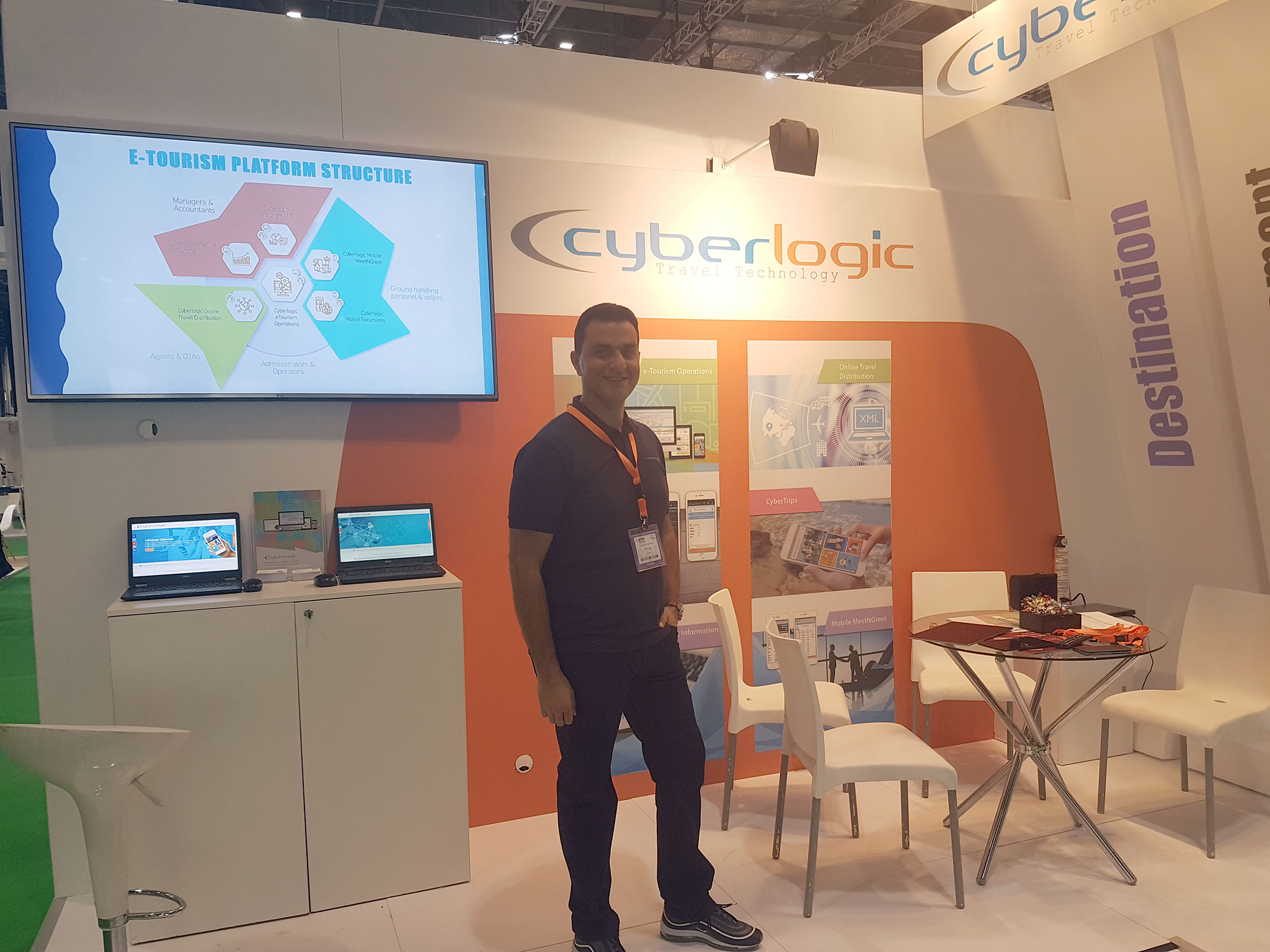 Cyberlogic Stand at WTM London 2017 – Highlights