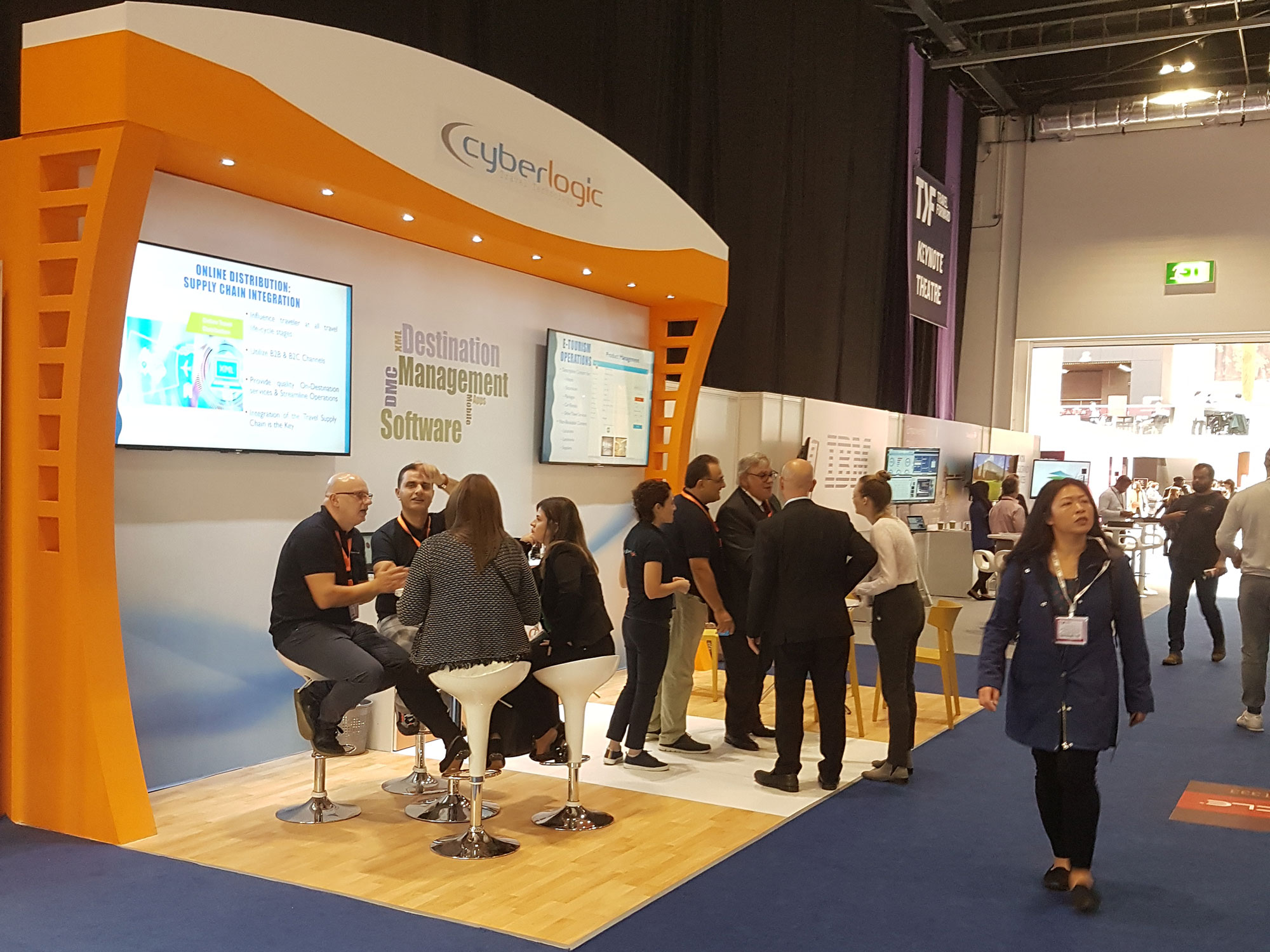 WTM London 2018 - Cyberlogic Stand Highlights