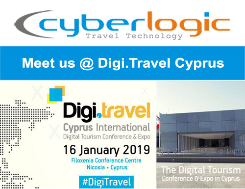 Meet Cyberlogic at Digi Travel Cyprus 2019 Conference - Cyberlogic e